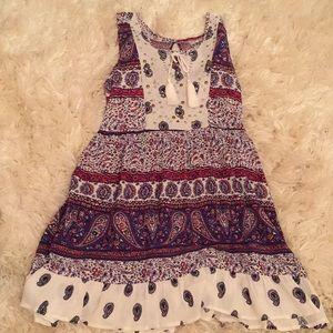 Other - Kids Boho dress with paisley patterns
